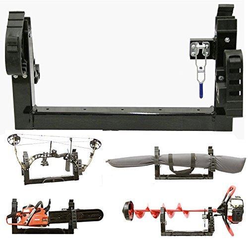 All Season Multi-Purpose 3-PLACE Carrier Rack Holder ATV Snowmobile UTV Mount For Metal or Composite Rack For Polaris UTV COMPOSITE Rack