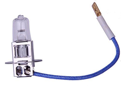 MOTORTOGO White Low Beam Headlight Halogen HID Bulb for 2014 POLARIS SNOWMOBILE 120 Indy