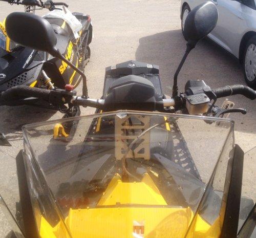 Rear View Mirrors Fit Ski Doo and Polaris Snowmobiles