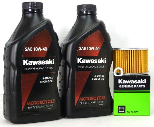2006 Kawasaki EX250F6F Ninja 250R Oil Change Kit