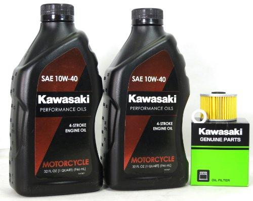 2010 Kawasaki KLX110DAF KLX110L Oil Change Kit