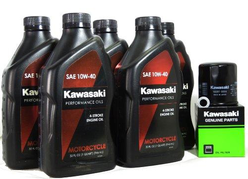 2010 Kawasaki NINJA ZX-14 Oil Change Kit