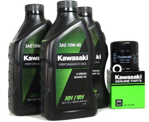 2013 Kawasaki BRUTE FORCE 750 4X4I EPS Oil Change Kit