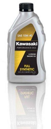 Kawasaki 4-Stroke Full Synthetic Motorcycle Oil 10W40 1 Quart