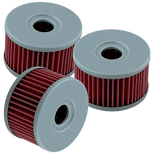 Caltric 3 PACK Oil Filter Fits SUZUKI LS650 LS 650 LS-650 BOULEVARD S40 2005-2012