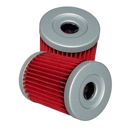 Caltric Oil Filter Fits Fits SUZUKI LT4WD LT-4WD LT 4WD Quad Runner 1987-1996 1997 1998 1999 2-PACK