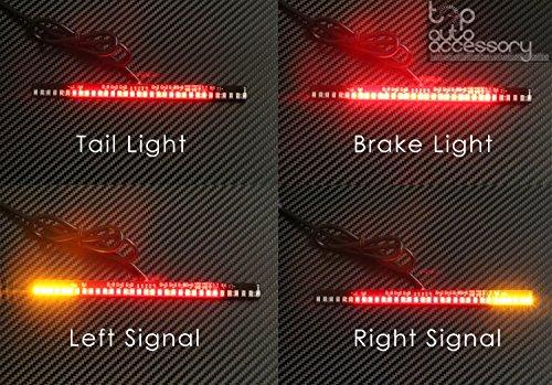 33-SMD LED Bar Brake Tail Light LeftRight Turn Signal Lamp for Suzuki Motorcycle