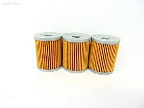 3 Emgo Oil Filters 10-55500 Suzuki Burgman Arctic Cat Kawasaki Yamaha Sym