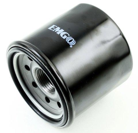 Emgo 10-82240 Black Finish Spin-On Oil Filter