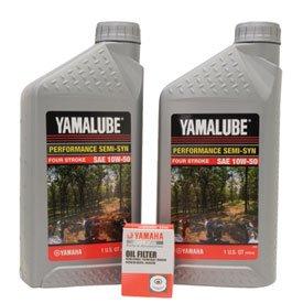 Yamalube Oil Change Kit 10W-50 for Yamaha YZ250F 2014-2018