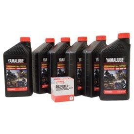 Yamalube Oil Change Kit 20W-50 for Yamaha Stratoliner Deluxe XV1900 2010-2011