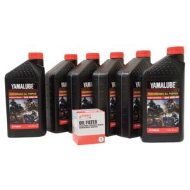 Yamalube Oil Change Kit 20W-50 for Yamaha Warrior XV1700 2002-2009