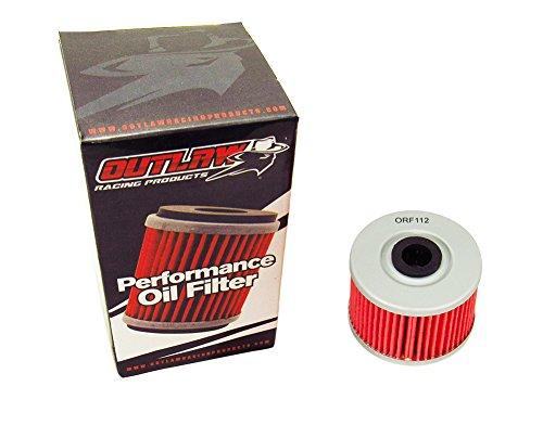 Outlaw Racing ORF112 Performance Oil Filter for POLARIS GAS GAS HONDA KAWASAKI SUZUKI