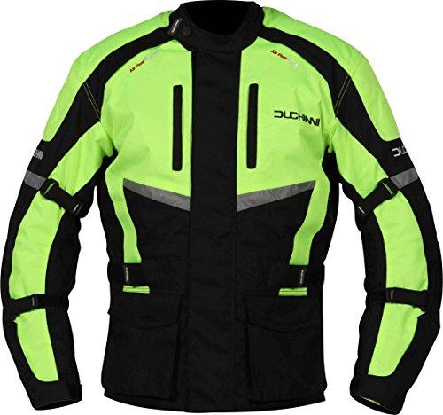 Alpine Motorcycle Jacket - Duchinni (m, Black Neon)