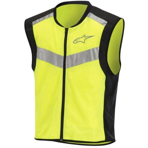 Alpinestars Flare High-visibility Vest , Size: Lg, Distinct Name: Hi-vis, Gender: Mens/unisex, Primary Color: