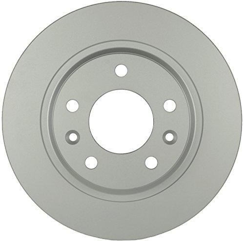 Bosch 20011481 QuietCast Premium Disc Brake Rotor For Ford 2006-2012 Fusion Lincoln 2007-2012 MKZ 2006 Zephyr Mazda 2009-2013 6 2003 Protege Mercury 2006-2011 Milan Rear