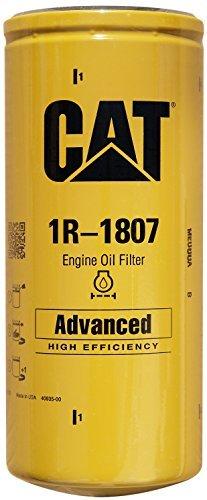 Caterpillar 1R-1807 Advanced High Efficiency Oil Filter Pack of 1