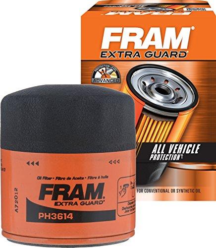 FRAM PH3614 Extra Guard Spin-On Oil Filter