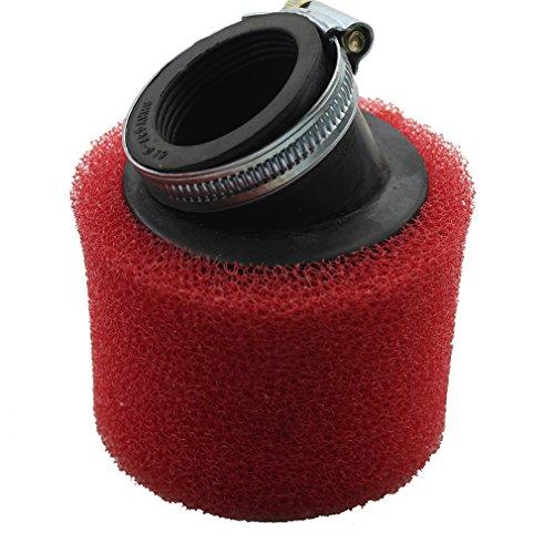 GOOFIT 38mm Bent Angled Foam Air Filter Pod for PIT Quad Dirt Bike ATV Buggy