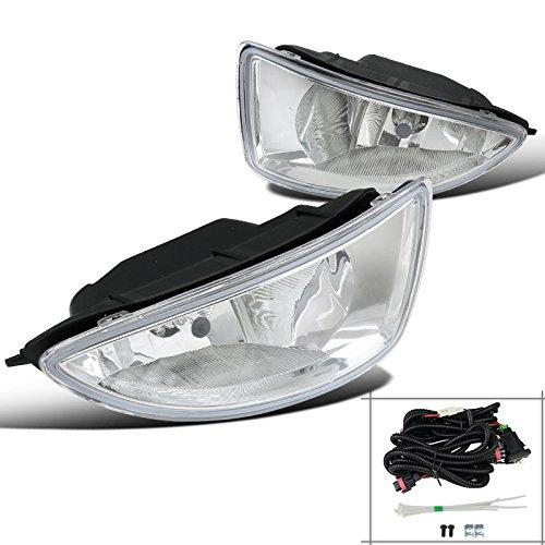 Spec-D Tuning LF-CV04COEM-DL For Honda Civic 24 Door Clear Front Bumper Fog Lights Driving LampsSwitch