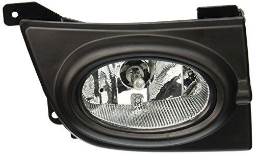 Spec-D Tuning LF-CV064OEM-RS Honda Civic Ex Lx 4Dr Sedan Fog Lights Clear