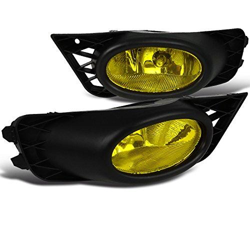 Spec-D Tuning LF-CV094AMOEM-RS Honda Civic Dx Ex Lx Si 4Dr Sedan Fog Lights Amber