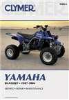 Clymer Repair Manual for Yamaha ATV YFZ350 Banshee 87-06