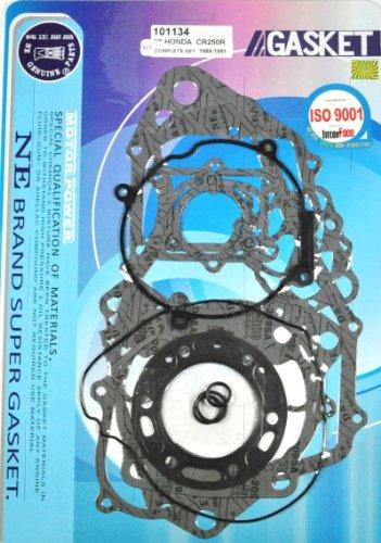 Complete Engine Rebuild Gasket Kit Honda CR250 CR 250 CR250R 1989-1991 89 90 91