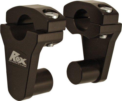 Rox Speed FX Elite Series Pivot 1-18 Handlebar Riser - 2in Rise - Black 1R-P2PPK