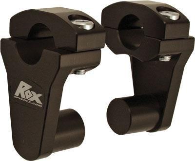 Rox Speed FX Elite Series Pivot Handlebar Riser - 2in - Black 1R-P2SEK