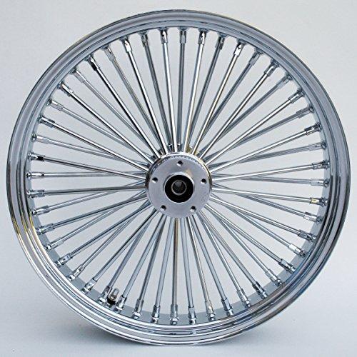 Chrome Ultima King Spoke 21 x 215 Front Dual Disc Wheel for Harley and Custom