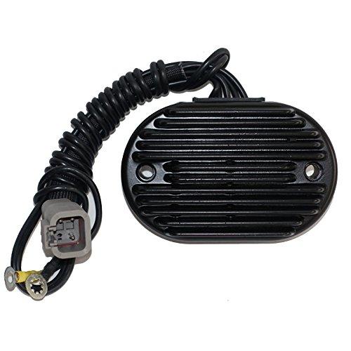 Motadin Harley Davidson Voltage Regulator 74610-01 74540-01 Replacement Black 38-AMP