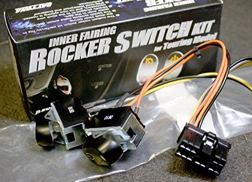 Daytona Inner Fairing Rocker Switch Kit Harley Davidson Electra Glide 70279-98