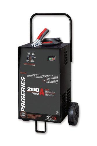 Schumacher PSW-2035 DSR ProSeries 200352 Amp 12 Volt Manual Wheel Battery ChargerStarter