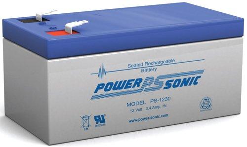 12V 3AH Sealed Lead Acid SLA Battery for BB BP3-12 F2 F1 ADAPTERS