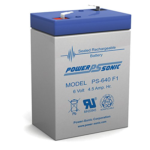 UB645 6V 45Ah SLA640 APS46 LA640 SLA4-6 SLA Battery