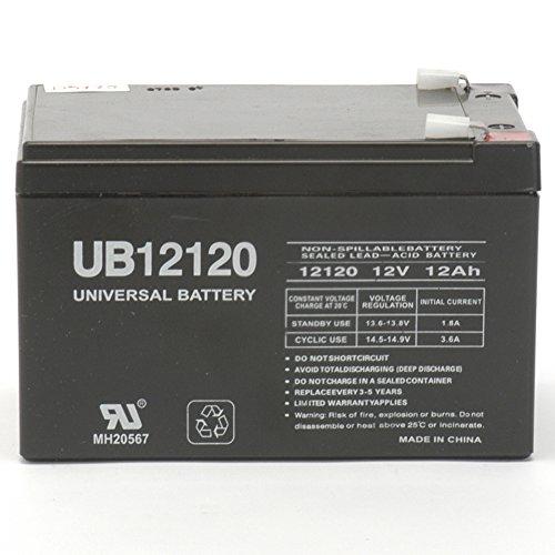 12V 12Ah F2 EAGLE PITCHER CF12V12 Sealed Lead Acid SLA AGM Battery