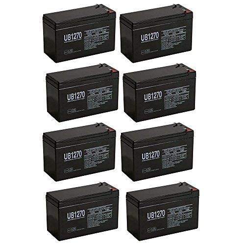 12V 7AH Sealed Lead Acid SLA Battery for BB BP7-12T2 BP7-12 T2 - 8 Pack