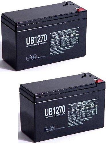 12V 7Ah Replacement SLA Battery for AGT LA1270 - 2 Pack