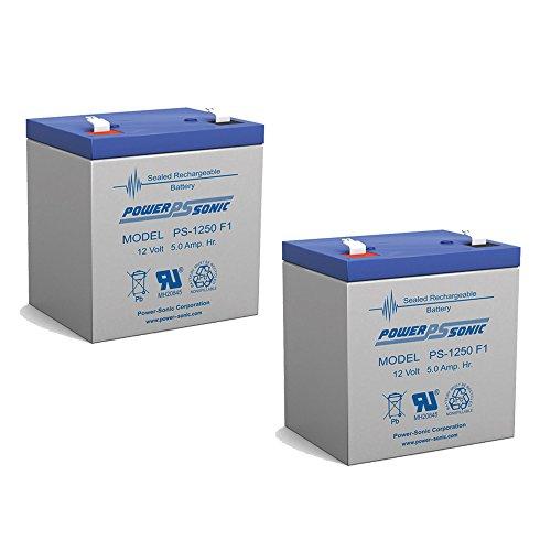 BB Battery 5 AH 12V SLA Battery BP Series - 2 Pack