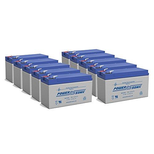 NEW 12V 7AH 75ah 8ah 12 Volt SLA Sealed Lead Acid Fish Finder Battery - 10 Pack