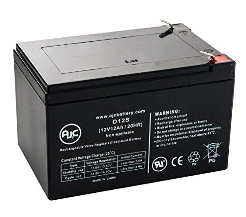 E-Scooter 24 Volt 250 Watt 12V 12Ah Scooter Battery - This is an AJC Brand Replacement