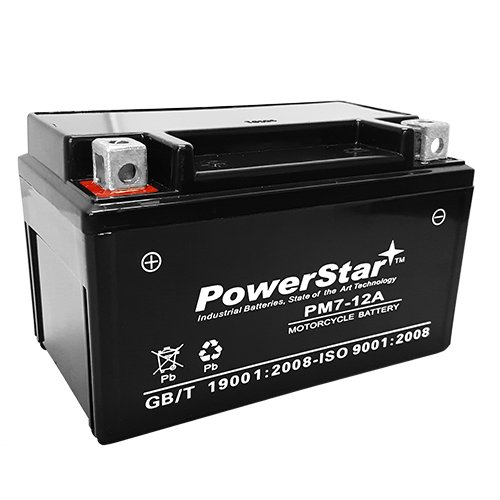 PowerStar YTX7A-BS AGM Scooter Battery for Kymco 150cc People 150 2009-PowerStar