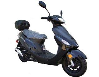 50cc Gas Street Legal Scooter TaoTao ATM50-A1 - Black