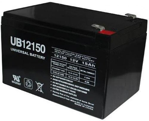 12V 15Ah F2 Scooter Bike Replacement Battery for CSB EVH12150 EVH 12150