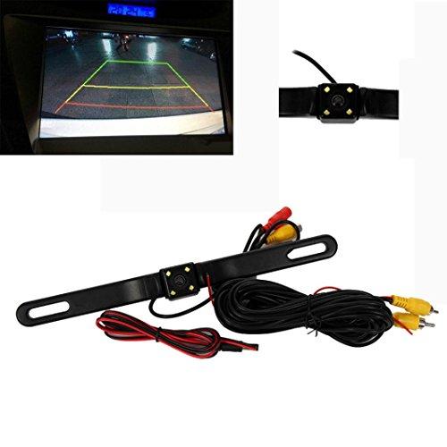 Car Video Recorder 4 LED Night Vision Car Rear View Reverse Backup Parking Camera CMOS Waterproof