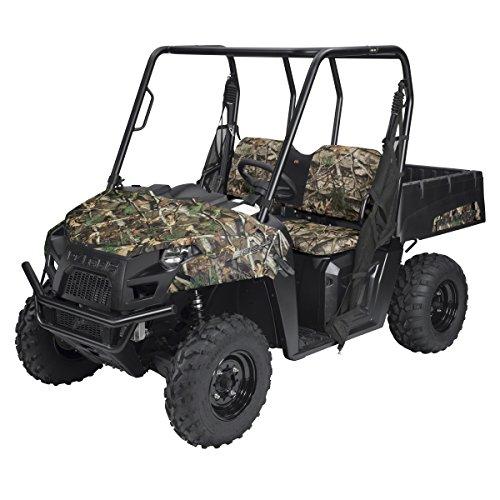 Classic Accessories 18-141-016003-00 Next Vista G1 Camo QuadGear UTV Bench Seat Cover Fits Polaris Ranger Mid-Size 400 570 EFI 800 EFI EV 500-570 Crew
