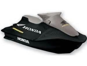 New Honda AquaTrax F12  F12X  3-Seat  PWC Cover Silver and Black