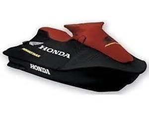 New Honda AquaTrax F12  F12X  3-Seat  PWC OE Cover Burgandy and Black
