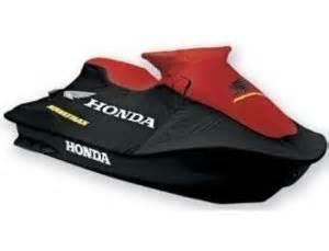 New Honda AquaTrax F12  F12X  3-Seat  PWC OE Cover Red and Black